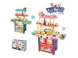 2018 Los niños juguetes de plástico de cocina chica juego de aparentar juguetes H5931351