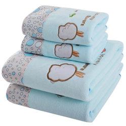 대나무 섬유 아기 대나무의 두건이 있는 목욕 수건은 충분히 아이들의 만화 케이프 아기 목욕 수건을 고리를 이룬다
