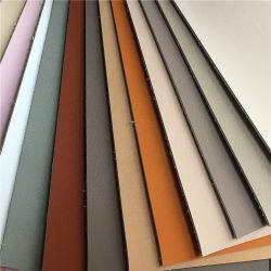 2019 Non-Woven colorés de façon étanche résistant soutien PU artificielle pour les chaussures en cuir synthétique en PVC et Lady sac