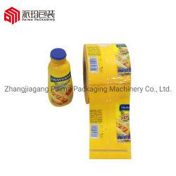 Sensible à la chaleur du manchon rétractable PVC Étiquette pour les bouteilles d'eau