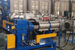 Zweistufiges Recycling- und Granuliersystem für PP PE