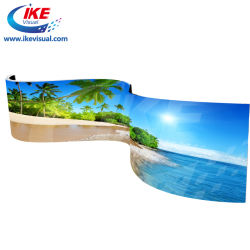 Waterbestendig Full Colour gebogen LED-scherm voor buiten flexibele LED Video Wall voor reclame