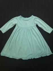Super weiches Anti-UVgrundlegendes klassisches langes Hülsen-Schwingen-Kleid für Mädchen