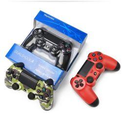 Alta qualidade PS4 sem fio do controlador de joystick Dualshock PRO Controller para PC Bt Gamepad Acessórios por grosso