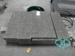 中国石G664は平板またはカウンタートップまたは工学タイルのためのBainbrookブラウンの花こう岩を炎にあてた