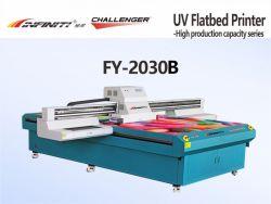 Challenger Infiniti лак помощи 3D всесильными царями УФ принтер Flat-Bed Fy-2030b 2000*3000 мм размер печати