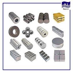 Высокая производительность металлокерамические магнитного материала NdFeB неодимовый магнит для промышленного