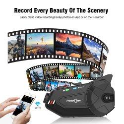 1080P Bluetooth 내부통신기 기관자전차 기록병 헤드폰
