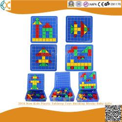 2018 Nuevo tablero de plástico para niños juguetes Bloques de construcción regalos para bebés