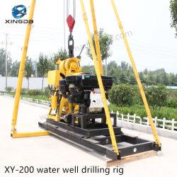 perforatrice Drilling del pozzo d'acqua del bit della pompa di fango di 200m PDC