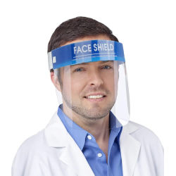 Abastecido descartáveis de isolamento anti Splash Nevoeiro anti PPE transparente de segurança de proteção Protetor de rosto