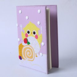 Vendita all'ingrosso di prodotti fai da te promozione regalo Stationery cucito a mano PU notebook
