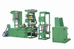 Máquina de soplado de película Biodegrable 500-1000mm de ancho de película