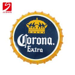 Стены Арт стиле висящих печатается знак 3D-рельефным синий Тин пиво расширительного бачка с металлической знаков для рекламы