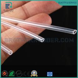 Tubo su ordinazione all'ingrosso del silicone del tubo del tubo del tubo di aspirazione della gomma di silicone della FDA