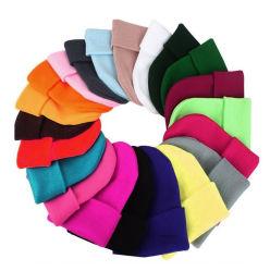 Custom tie Dye Beanie Hat Winter Hats for Women Fashion Winter Cap wasbaar China vouwbare emmer hoed Voorraad Fisherman hoed