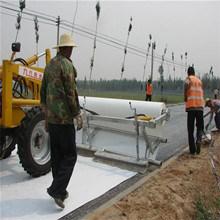 Geotextile tejidas para el proyecto ferroviario