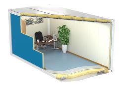 中国の安いプレハブのプレハブの移動式小さいモジュラーKitsetによって製造される浮遊輸送箱の小屋またはオフィスまたは家または洗面所のホーム