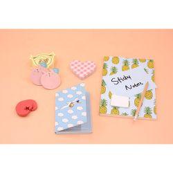 Goedkoop Memo Pad, gerecycled papier omslag Sticky Note Book