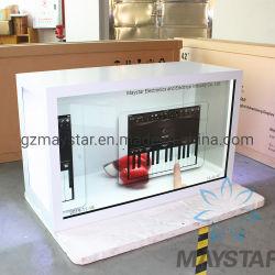 """Showcase Touch per LCD in vetro trasparente in PC traslucido da 15""""~100"""" di grandi dimensioni Schermo computer schermo LCD digitale schermo LCD per la vendita"""