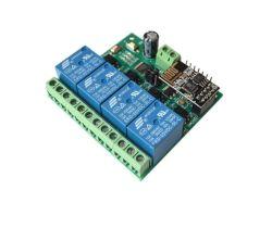 Venta caliente Esp8266 4CH Esp WiFi de 5V32 del módulo de relé de la casa inteligente Mobile APP Interruptor de control remoto