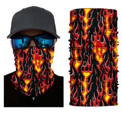 يحمي الأشعة فوق البنفسجية الغبار نسيج شبكي متعدد الألوان Camo Unisex Fashion Tube قماش Bandana المخصص السلس