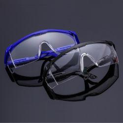 Beweis des Staub-Aj-002, Spittle-Beweis, Spritzen-Beweis, hohe Sicht-schützende Gläser, Schutzbrillen, PC Material