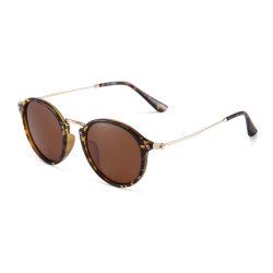 Plein cadre ronde des lunettes de soleil polarisées 2020 Lentille Fashion Style