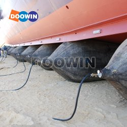 Sacchi ad aria di gomma marini di lancio di sollevamento pesanti gonfiabili dell'aerostato di gomma della nave