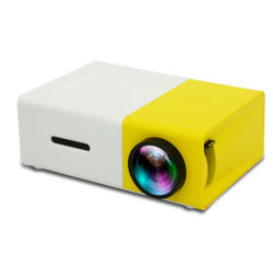 Zuverlässiges Telefon-Licht-ganz eigenhändig geschrieber Lasermini Pocket kurzer Throw-Stern-Projektor der QualitätsYg300 1080P LED 4K Pico