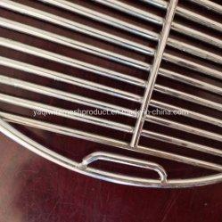 30 cm rotonda in acciaio inox BBQ griglia a rete