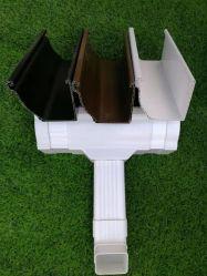/Pipe/Elbow/Corner van de goot Toebehoren voor het Systeem van de Goot van pvc