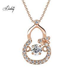 مجوهرات كريستال كالاباش المضادة للحساسية الأطفال قلادة عقد مجوهرات أفضل هدية للنساء صديقات
