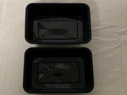 PLA biodegradables certificado CE Vajilla de plástico de la familia de reciclaje de contenedores de alimentos