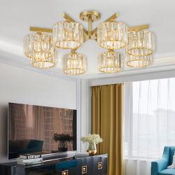 Lampade domestiche dell'interno del cristallo LED di soffitto dell'alimento operato degli indicatori luminosi Wh-Ca-40