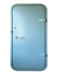 La puerta hermético a gases marina