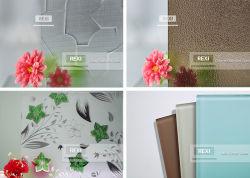 Dekorative Nashiji Karatachi Mistlite Jahrtausend Morgon Flora kopierte Muster darstellte die bereifte Satin-Glassäure, die zurück angestrichene lackierte 4mm 5mm 6mm 8mm geätzt wurde