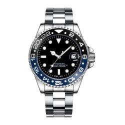 도매 남자의 자동적인 시계 손목 금속 결박 (JY-ST080)