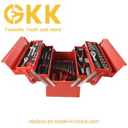 مجموعة أدوات 85PCS للبيع الساخن في مجموعة أدوات صندوق المعادن أداة اليد