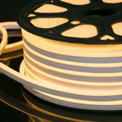 고품질 SMD2835 24V 상단 뷰 LED 네온 스트립 조명