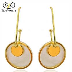 Shell van de Aard van de Groothandelsprijs de Zilveren Juwelen van de Douane van de Oorring voor Vrouwen
