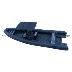 barca marina della nervatura della barca gonfiabile dell'orca della barca della nervatura dell'alluminio di 860cm con il certificato del CE