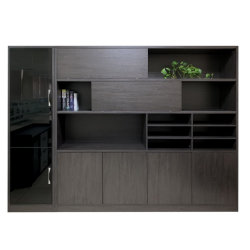 현대 새로운 목제 디자인 책꽂이 행정상 저장 사무실 서류 캐비넷