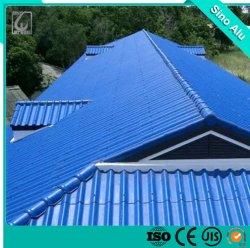 ورقة سقف من الألومنيوم المموج منقوشة بسعر قياسي ISO