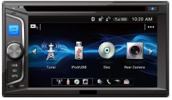 2 DIN Car Entertainment Multimedia DVD Audio Player de navegação