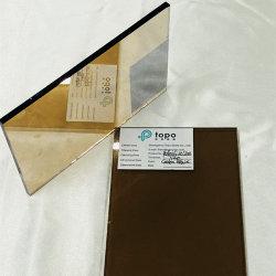 Bronzo scuro/vetro rivestito riflettente Bronze dorato della costruzione del galleggiante (R-GB)