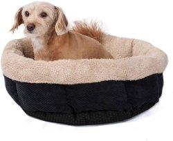 Luxuoso tecido macias camas cães amorosos Almofada de cães