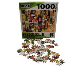 Großverkauf passte Hersteller-Hartfaserplatte-buntes Papierpuzzle-Spiel an