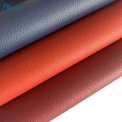 Prix bon marché artificiel Rexine synthétique cuir vegan PVC PU Produit Matériel pour sac de tissu voiture siège canapé Upholstery Shoe Material