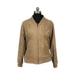 As mulheres reversível de casaco de camurça